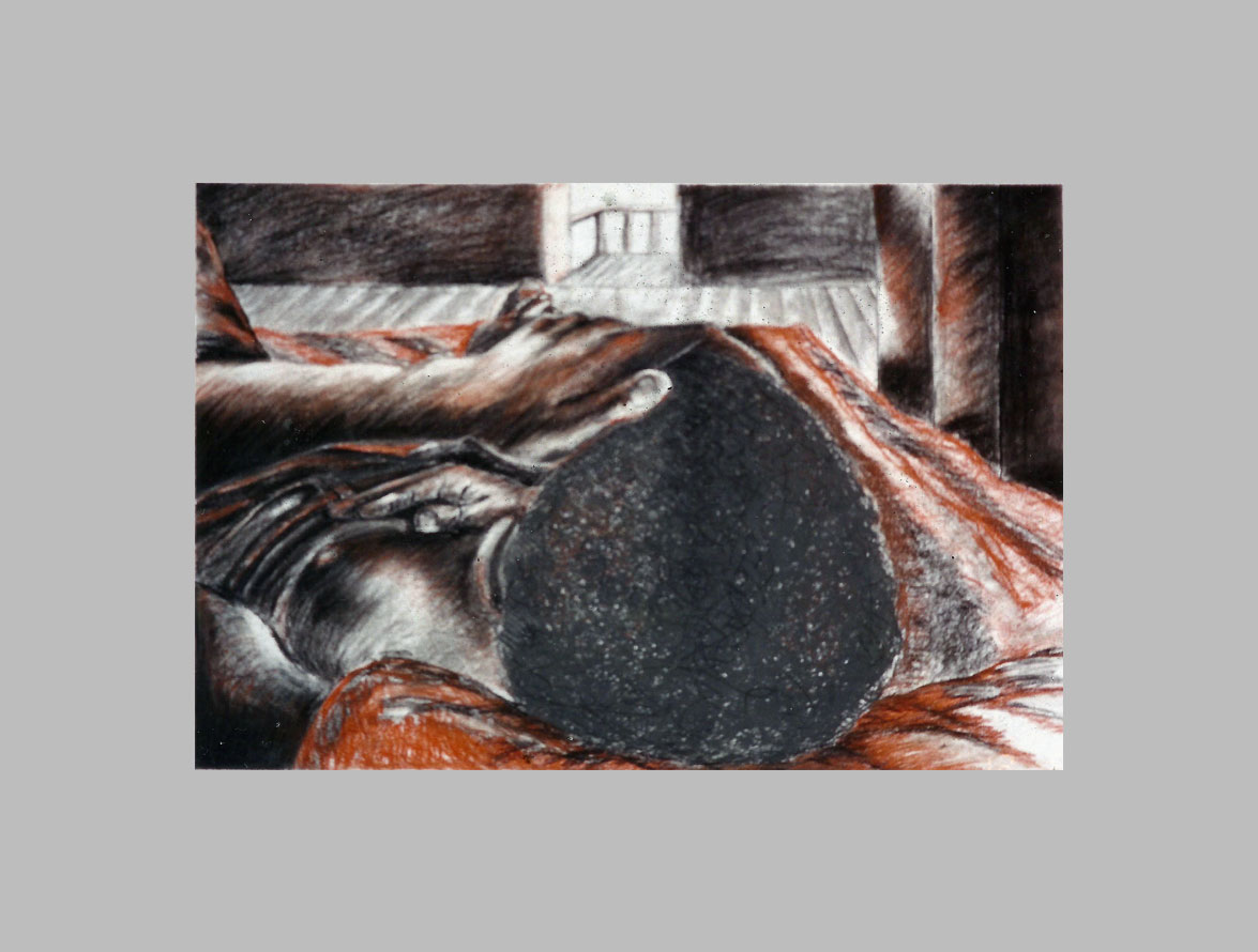 -charcoal -sepia